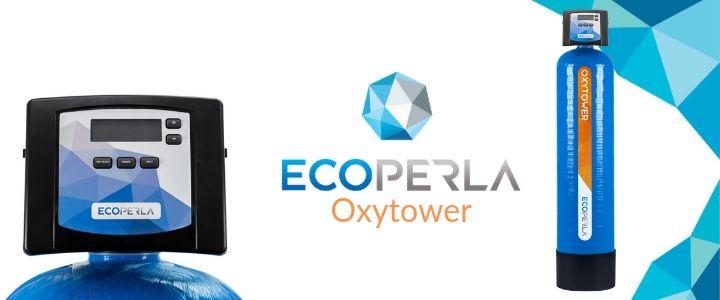 Ecoperla Oxytower - odżelaziacz i odmanganiacz wody z komorą sprężonego powietrza